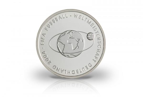 10 Euro Silbermünze 2004 Deutschland Planet Fussball PP