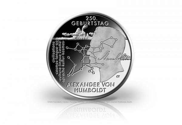 20 Euro Silbermünze 2019 Deutschland 250. Geburtstag Alexander von Humboldt st Vorbestellung