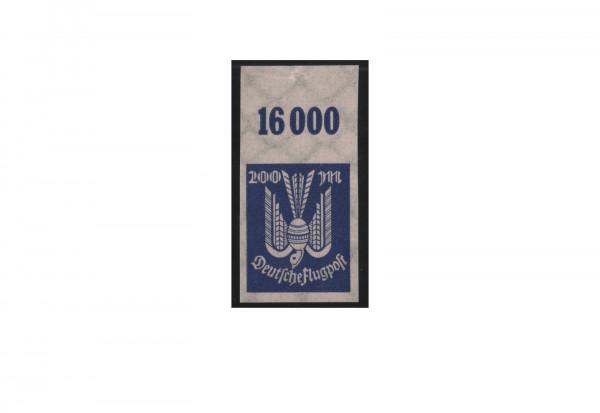 Deutsches Reich Mi.Nr. 267 U OR postfrisch Holztaube 1923