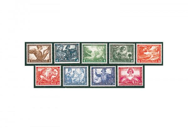 Deutsches Reich Wagner-Satz 1933 Mi.Nr. 499/507 postfrisch geprüft