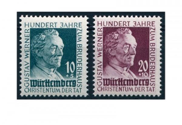 Französische Zone Württemberg Mi.Nr. 47/48 gestempelt