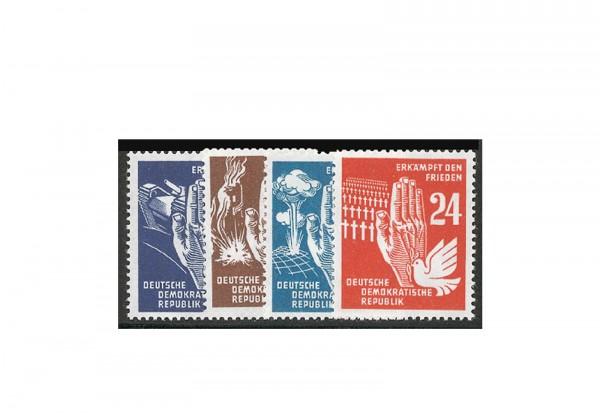 Frühausgabe DDR Mi.Nr. 276/279 postfrisch