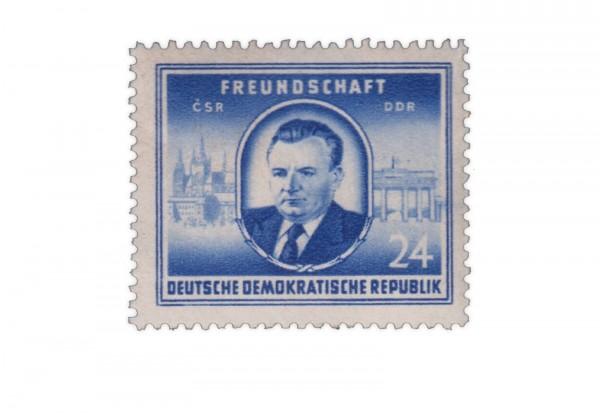 DDR Michel Nr. 302 ** Staaatsbesuch von Gottwald