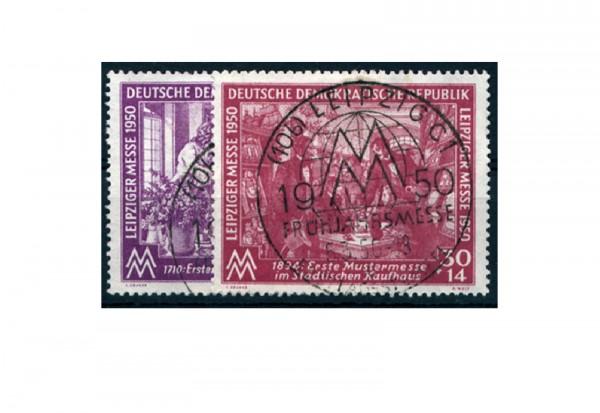 Frühausgabe DDR Mi.Nr. 248/249 gestempelt