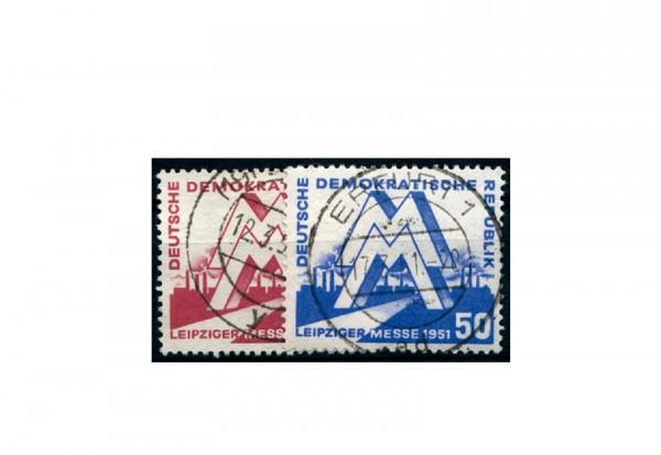 Frühausgabe DDR Mi.Nr. 282/283 gestempelt