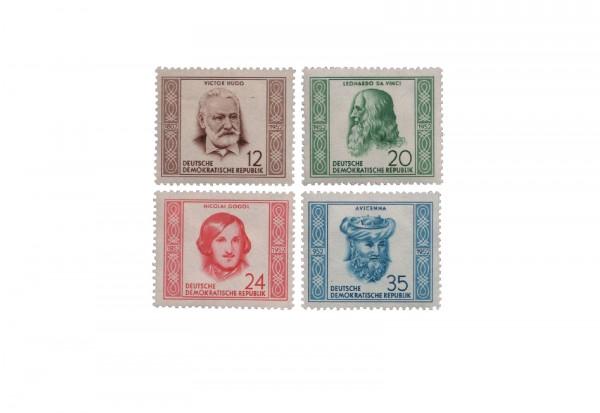 DDR Michel Nr. 311/4 gestempelt Persönlichkeiten