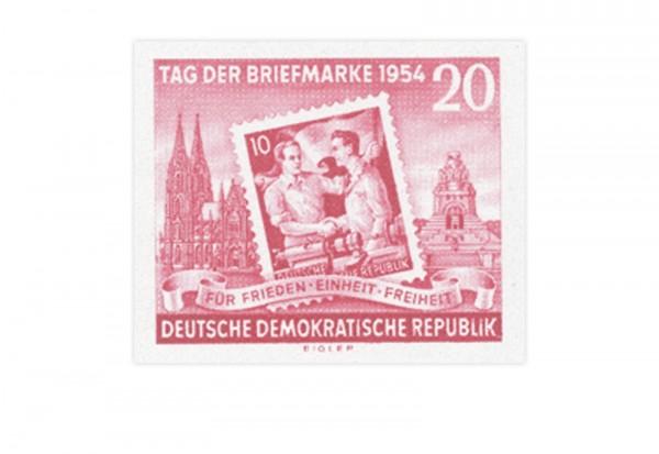DDR Mi.Nr. 445 B Block 10 Einzelmarke **