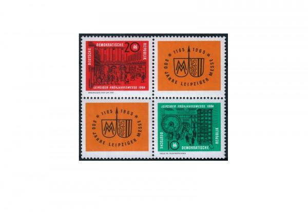 DDR Leipziger Frühjahrsmesse 1964 Michel Nr. 1012 bis 1013 ZD postfrisch VB