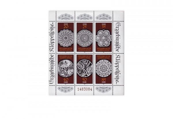 DDR Kleinbogen 1988 Michel Nr. 3215 bis 3220 postfrisch