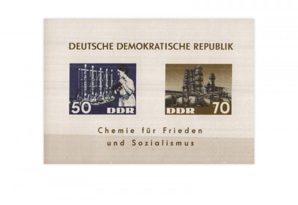 DDR Block 18 Chemische Industrie 1963 (*)