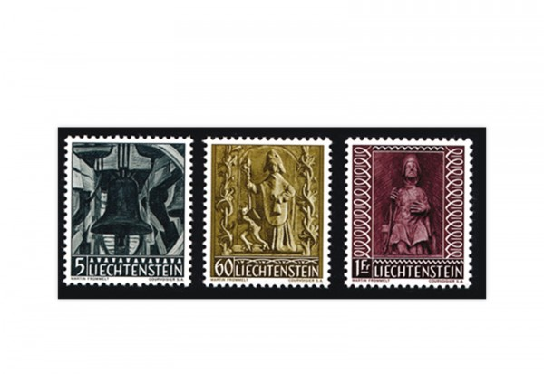 Liechtenstein Briefmarken Michel 386 / 8 postfrisch